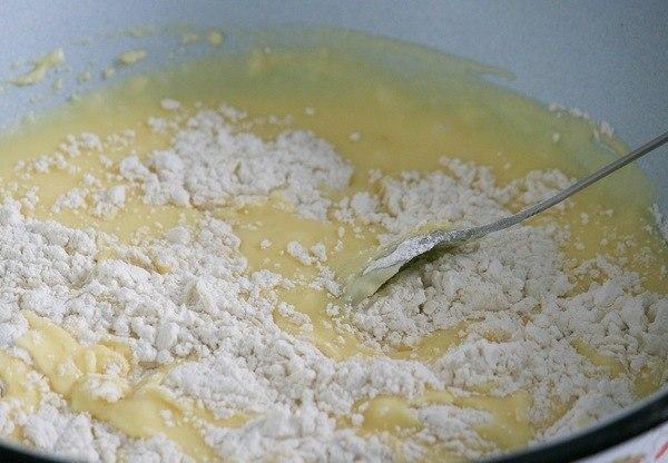 Рецепт сметана яйца мука сахар с фото