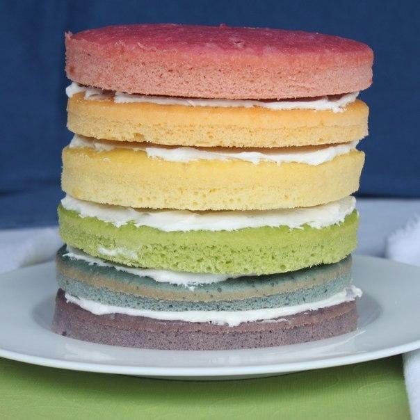 Кремы для тортов цветные как сделать
