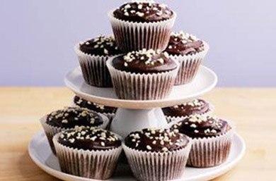 Маффины политые шоколадом рецепт
