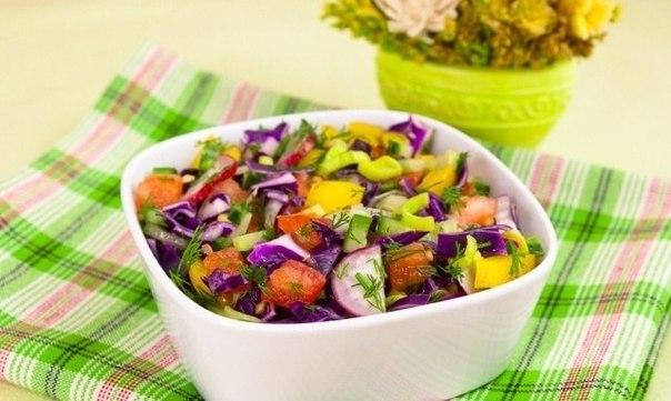 Витаминные салаты рецепты с фото
