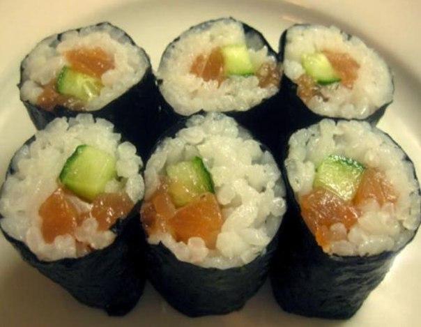 Суши из красной рыбы в домашних условиях 276