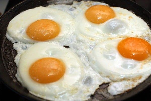 Куриное яйцо рецепты фото